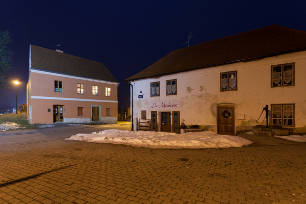 Noční Město Touškov